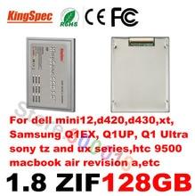 Sprzedaż Kingspec 1.8 SSD 128 GB ssd ZIF ATA7 2 CE hd 128 SSD Solid State Drive 120 GB Dysk Twardy Dla SONY Dla DELL HP