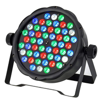 Fast shipping 54*3W mini led par wash beam spot stage effect light for DJ disco RGBW DMX moving head light