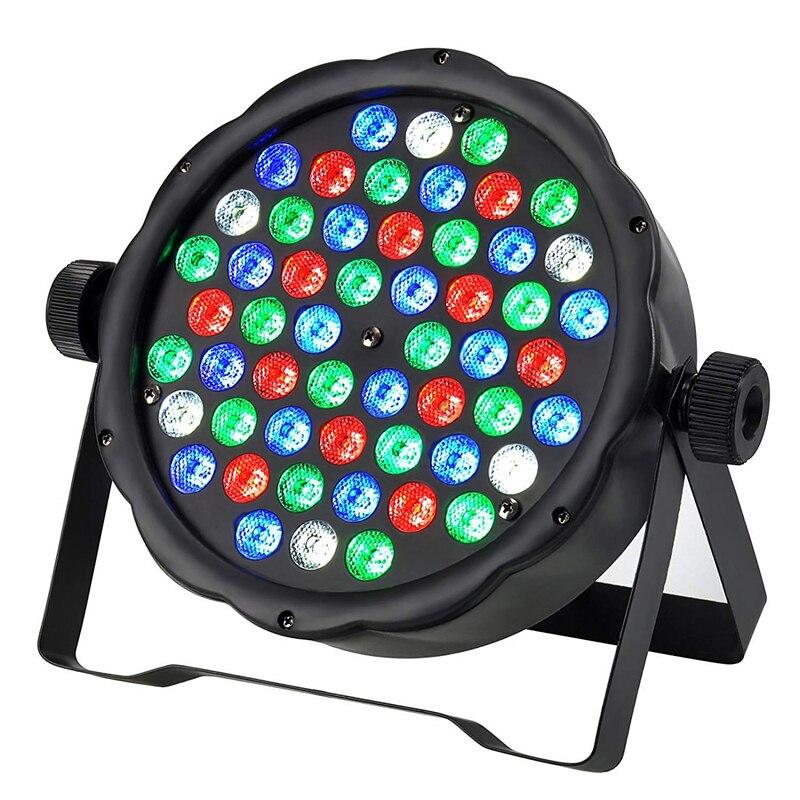 Fast Shipping 54*3W Mini Led Par Wash Beam Spot Stage Effect Light For DJ Disco RGBW DMX Moving Head Light