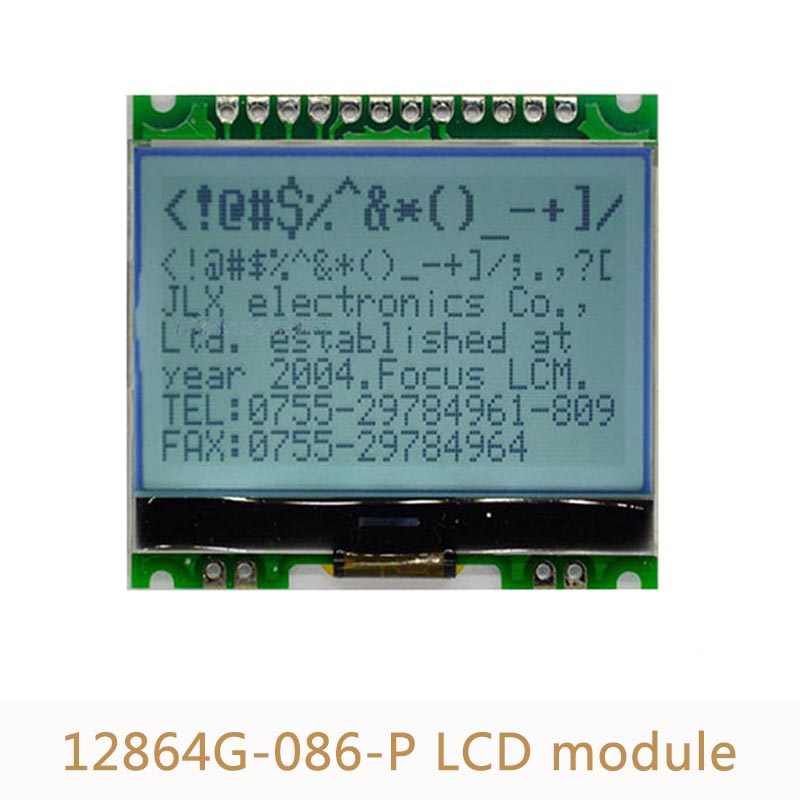 Detail Feedback Questions about 10pcs/lot 12864 LCD Display