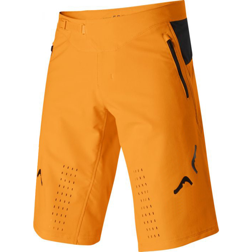 NAUGHTY FOX Defend MX Orange   Shorts   Dirt Bike Racing Pants MTB BMX Sports Cycling Motocross Bicycle   Shorts