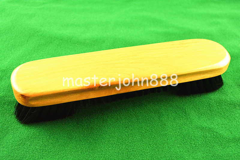 Pool Billiards Snooker Bid Wooden Table Brush Snoo...