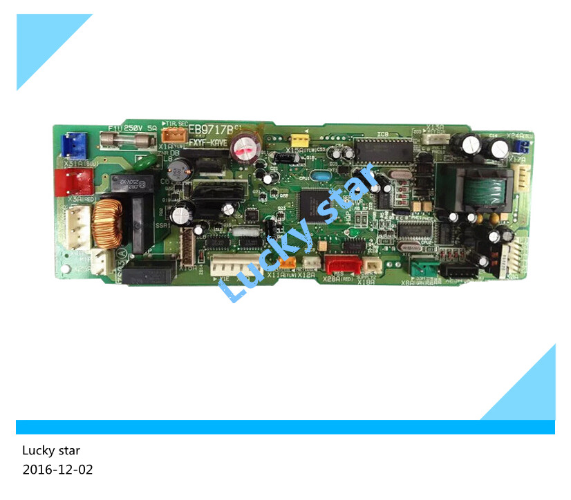 95% new for Air conditioning computer board circuit board EB9717B FXYF-KAVE board good working tle4729g automotive computer board