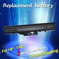 Jigu laptop 440264-abc 440268-abc 443063-001 hstnn-fb40 rw557aa hstnn-ib45 hstnn-ib44 bateria para hp 510 530