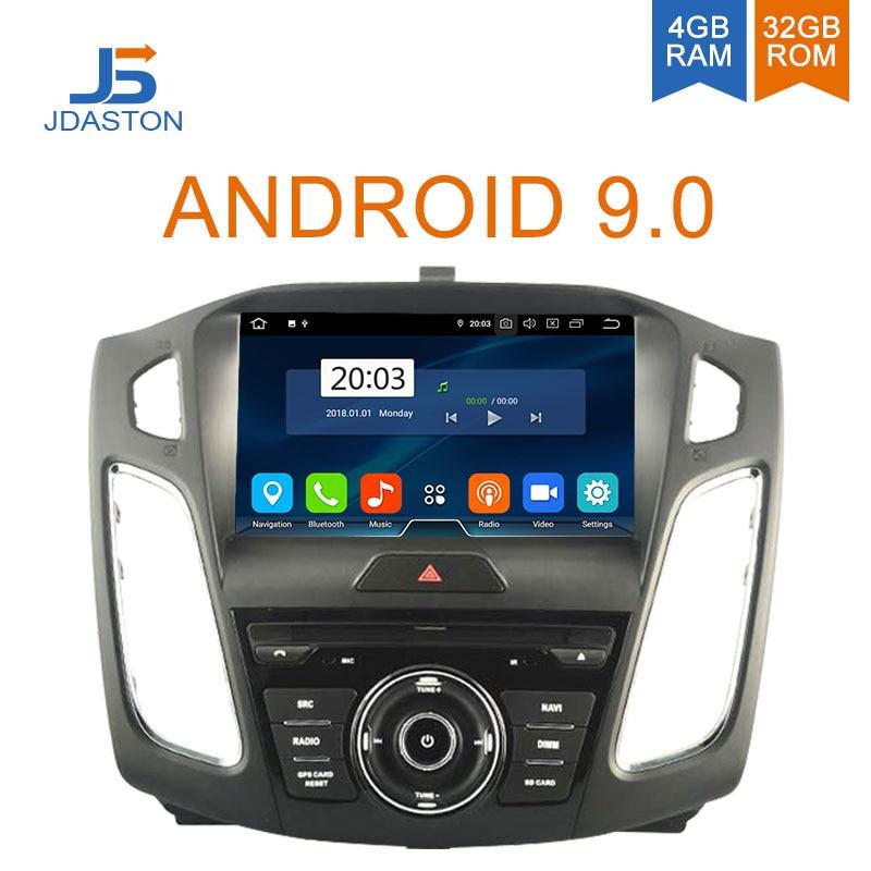 JDASTON Android 9.0 Jogador Do Carro DVD Para FORD FOCUS 2011 2012 2013 2014 2015 2016 GPS Do Carro de Rádio Estéreo Multimídia 4G + 32G Núcleo octa