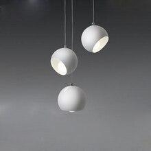 Креативная художественная люстра с шариками, современное Скандинавское освещение для гостиной, ресторана, спальни, столовой, бара, светодиодное освещение