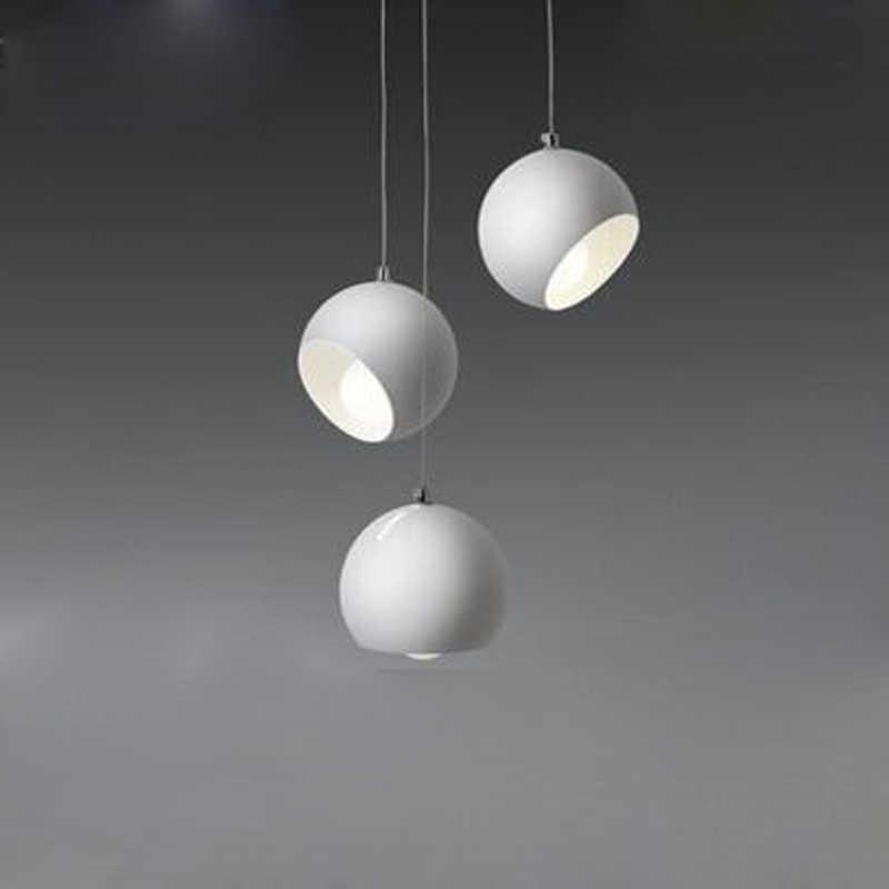 クリエイティブアートボールシャンデリアポストモダン北欧リビングルーム照明レストラン寝室ダイニングルームバー照明led照明
