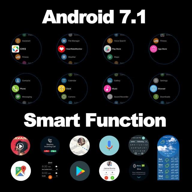 "New Zeblaze THOR 4 Dual 4G SmartWatch 5.0MP+5.0MP Dual Camera Android Watch 1.4"" AOMLED Display GPS/GLONASS 16GB Smart Watch Men 5"