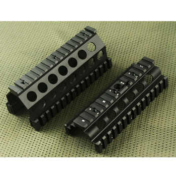 Tactical handguard rail M249 Upper and Lower Scope mount Handguard Rails System BK