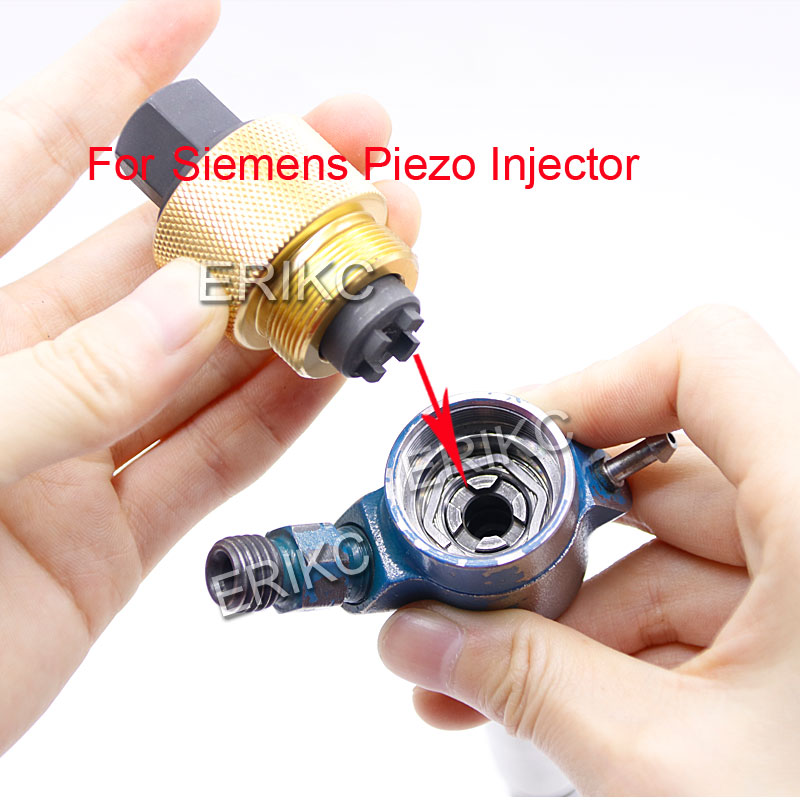 Common Rail Diesel Fuel Piezo Injector Tools Inner Wire Spanner Disassembly Dismounting Repair Tool For Piezo Siemens Injector