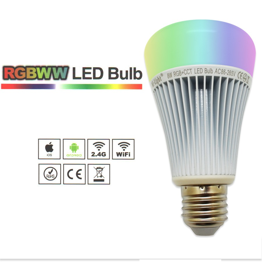 RGBWW 8W LED BULB13