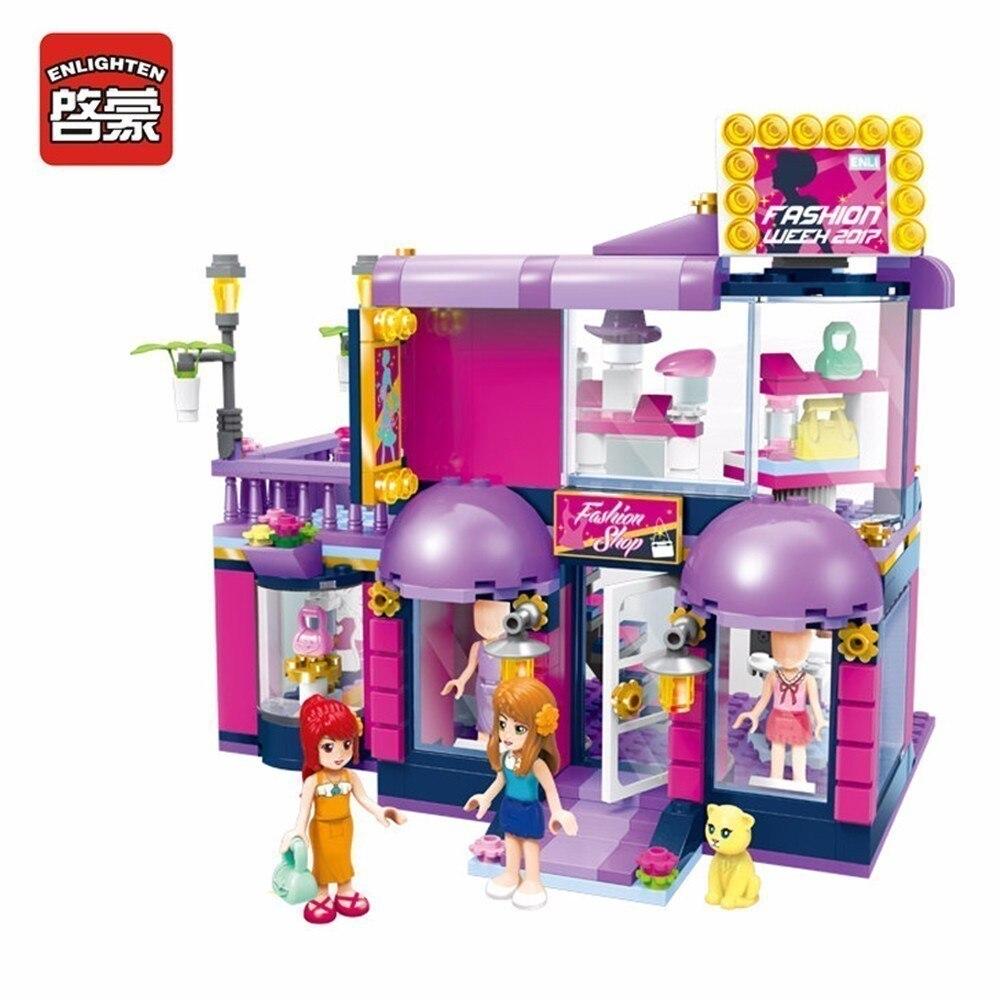 Φωτεινά κορίτσια Παιδιά Δώρα μόδας Συμβατά Blocks Παιχνίδια Πόλη Για ... d8670dfbb30