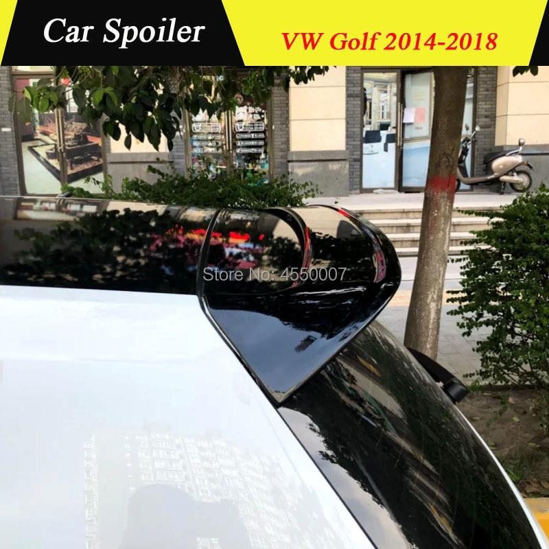 Для Volkswagen Golf 7 спойлер задний спойлер на крышу окна ABS пластик задний спойлер для Volkswagen Golf 7 2014 2015 2016 2017 2018