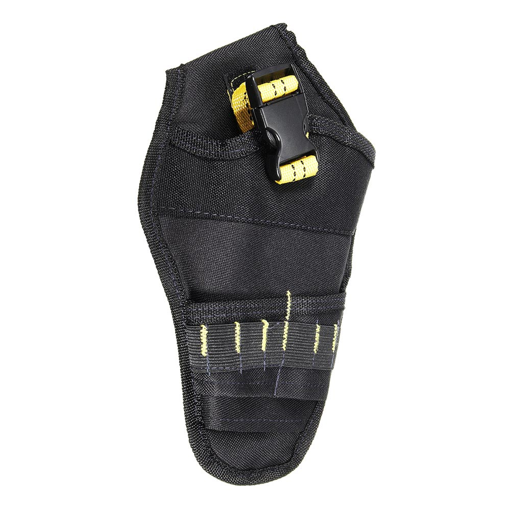 Newest Heavy-duty Drill Holster Tool Belt Pouch Bit Holder Hanging Waist Bag Drill Tool Storage Bags