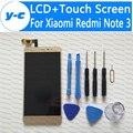 Сенсорный Экран Для Xiaomi Redmi Note 3 Новый ЖК-Дисплей + Сенсорный панель Дигитайзер Для Xiaomi Redmi Note 3 Prime 1920X1080 FHD 5.5 inch