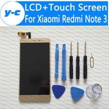 Pantalla táctil para xiaomi redmi note 3 nueva pantalla lcd + touch el panel del digitizador para xiaomi redmi note 3 primer 1920×1080 fhd 5.5 pulgadas