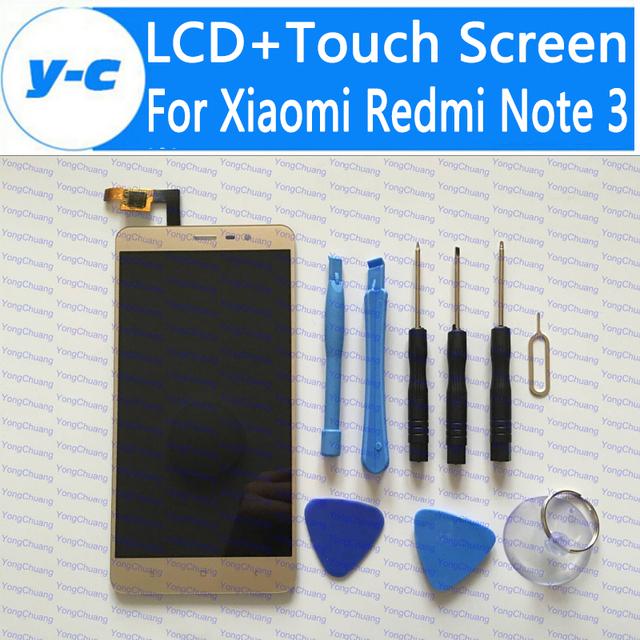 Pantalla táctil para xiaomi redmi note 3 nueva pantalla lcd + touch el panel del digitizador para xiaomi redmi note 3 prime 1920x1080 fhd 5.5 pulgadas