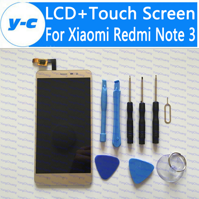 Touch Screen For Xiaomi Redmi Note 3 New LCD Display+Touch Panel Digitizer For Xiaomi Redmi Note 3 Prime 1920x1080 FHD 5.5inch