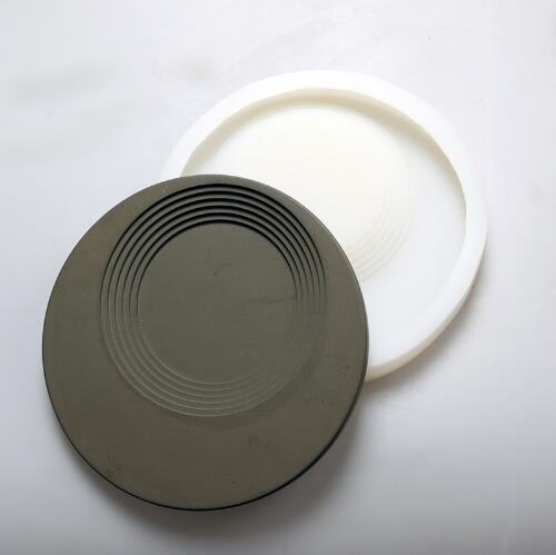 Design classique bricolage maison plat décoratif silicone moule stockage créatif béton ciment moules industriel vent plaque de stockage moule