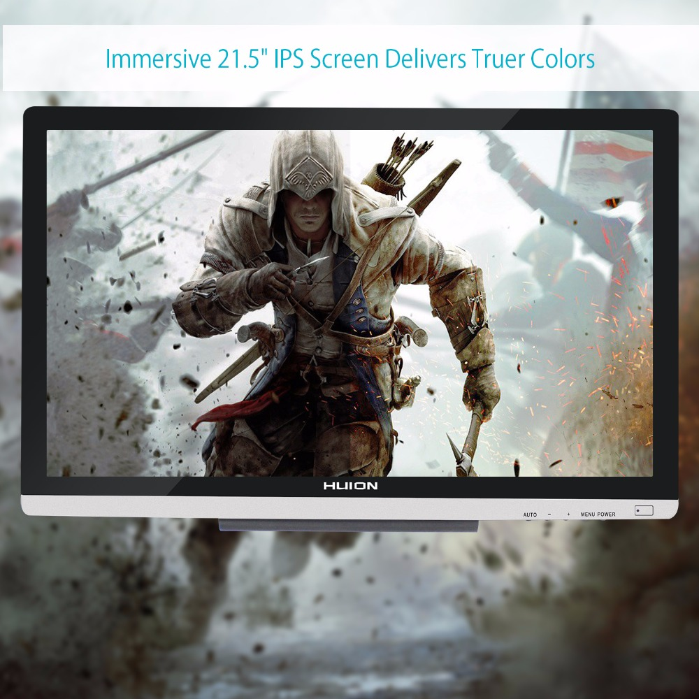 Image 5 - HUION GT 220 V2 21.5 Inch Pen Display Digital Graphics Drawing Tablet Monitor IPS HD Pen Tablet Monitor 8192 Levels with Gifts-in Digital Tablets from Computer & Office