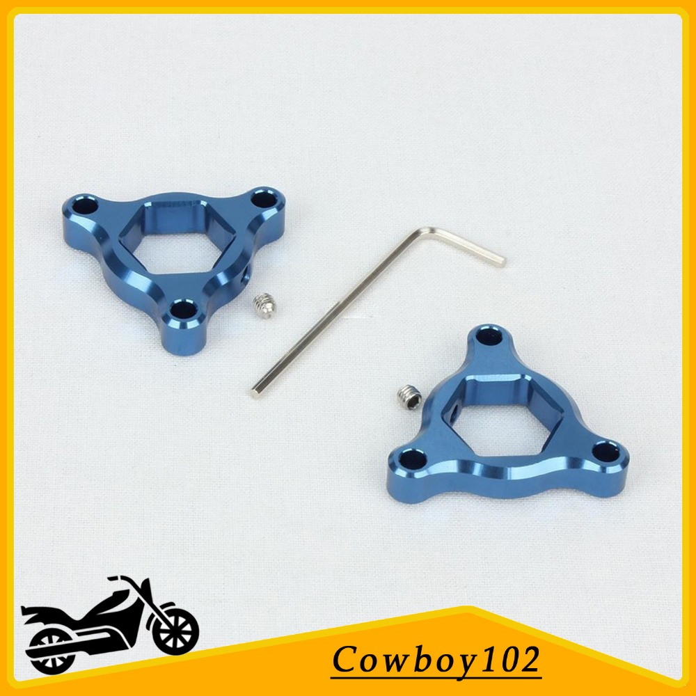Preload Adjusters Parts Fork 17mm for For Yamaha Fazer 1000 2000 - 2005 FZR 1000 1991 - 1995 YZF 1000 1996 - 2002 Blue