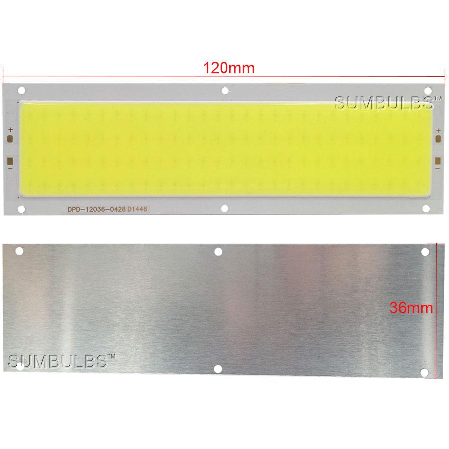 Lâmpadas Led e Tubos levou faixa lâmpada luz dc Size : 120*36mm