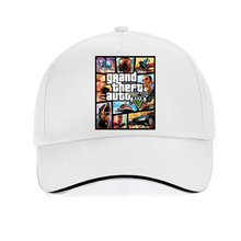fashion Brand game gta 5 cap men 100% cotton Baseball Caps cosplay Men women Hip Hop Snapback hat  adjustable bone все цены