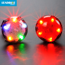 Leadbike Super Bright 5 LED Cycling Bicycle Bike Tail Light Safty Warning Flashing Riding Lamp Alarm UFO Projection Taillights