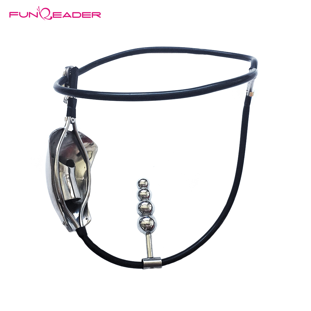 Metal Male Chastity Cage Stainless Steel Chastity Belt With Anal Plug Slave BDSM Bondage Fetish Lockable