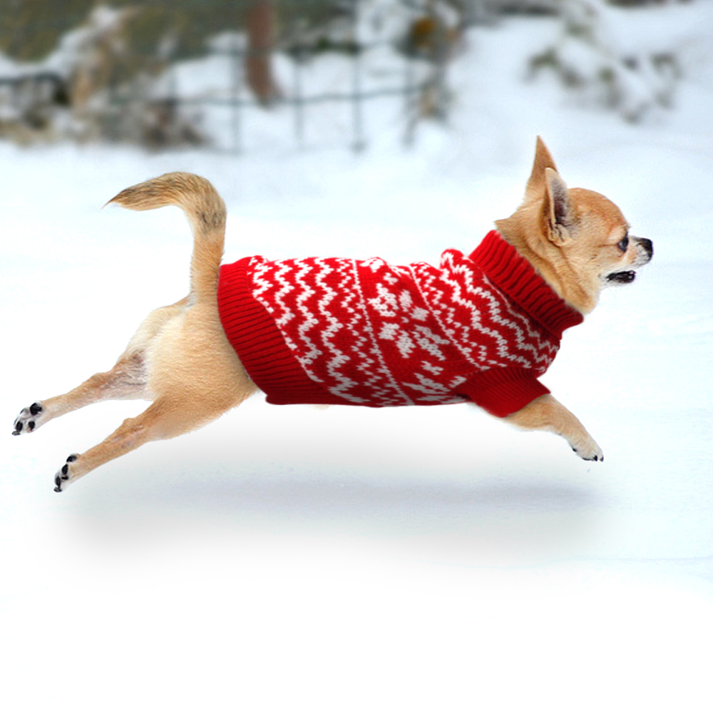 Warm Winter Dog Cat Sweater Dogs Pet Clothes Soft Puppy Kitten Knit Clothing For Small Medium Chihuahua Yorkies S M L XL