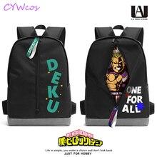 My Hero Academia Izuku Midoriya Deku bakugo katsuki Cosplay Backpack School Student Shoulder Bag Little Hero Cosplay Backpacks
