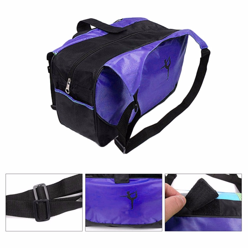 Yoga Mat Bag Waterproof Backpack Shoulder Messenger Sport Clothes Duffel Bag For Womens Fitness Gym Bag no Yoga Mat Moderate Price