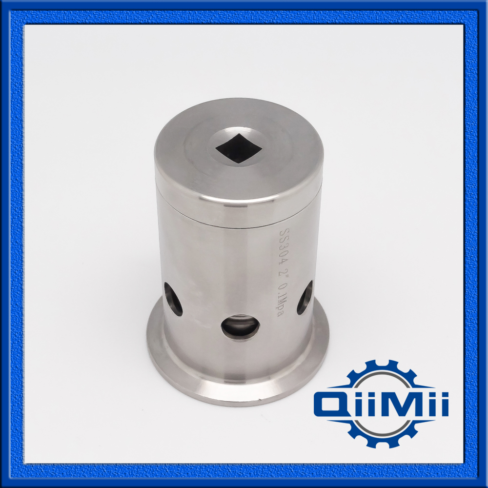 SS304 1.5-2  Vacuum Air release valve Stainless Steel Clamp End 1pc 51mm 2 sanitary fitting diaphragm valve clamp type stainless steel ss sus 304
