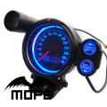 SPECIAL OFFER Original Logo White LED + Black LCD + Green Shift Light 80mm Odometer Digital Auto Car Speedometer Meter Gauge