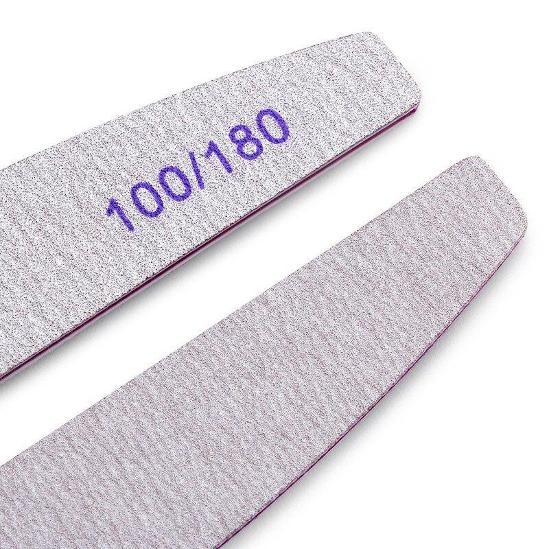 100 180 lixamento para manicure uv gel
