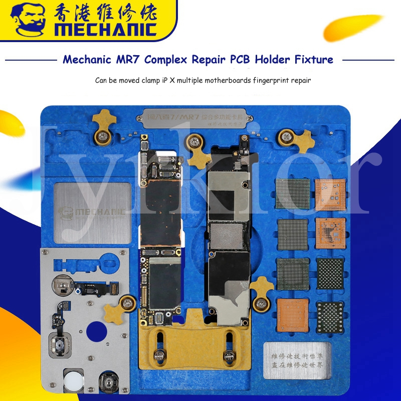 Mechanic Multi-functional PCB Motherboard Holder Fixture For IPhone A7 A8 A9 A10 A11 A12 NAND PCIE CPU NAND Fingerprint Repair