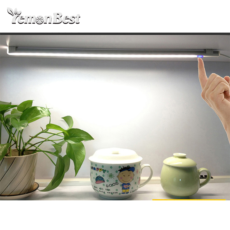 USB LED Lamp Cool White Infinity Dimmer Table Lamp Wardrobe Lamp 30cm Portable Stepless Dimmer Touch Control