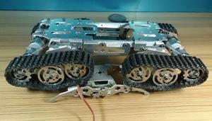 Image 2 - 合金タンクーシャーシトラクタークローラクローラ知能ロボットカー障害物回避barrowland diy rcのおもちゃリモートコントロール