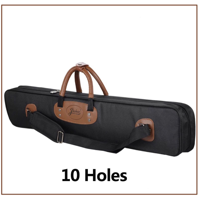 2016 New High Capacity 10 Holes Oxford Cloth 1/2 Billiard Pool Cue Case Billiards Accessories Black/Blue/Red Colors China