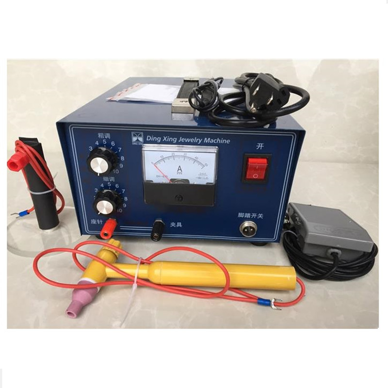 DX-50A 0.5-30A 400W laser spot welder hand-held pulse spot welder welding machine necklace welding machine jewelry processing  цены