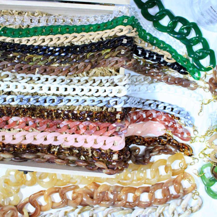 Модные акриловые смолы ремень сумка аксессуары Переносные сумки ремень сумка через плечо с ремешком женские смоляные сумки бренды INS кошелек ремни
