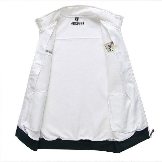 Long Sleeve Stand Collar Sweatshirt Sports Set  4