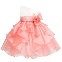 keaiyouhuo Infant Girls Party Dresses 2017 Summer Baby Dress Kids Girls Princess 1 Year Birthday Dress For Baby Girls Clothes