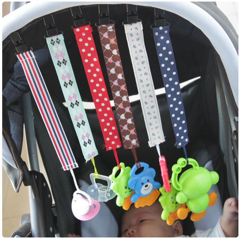 2019 Baby Pacifier Clip Dummy Clip Holder Feeding Product Animal Cartoon Baby Pacifier Anti Lost Chain Pacifier Chain I0142