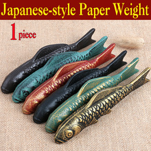 Painting-Supplies Paper-Weight Calligraphy for Cast-Iron Chinese Japanese-Style 1piece