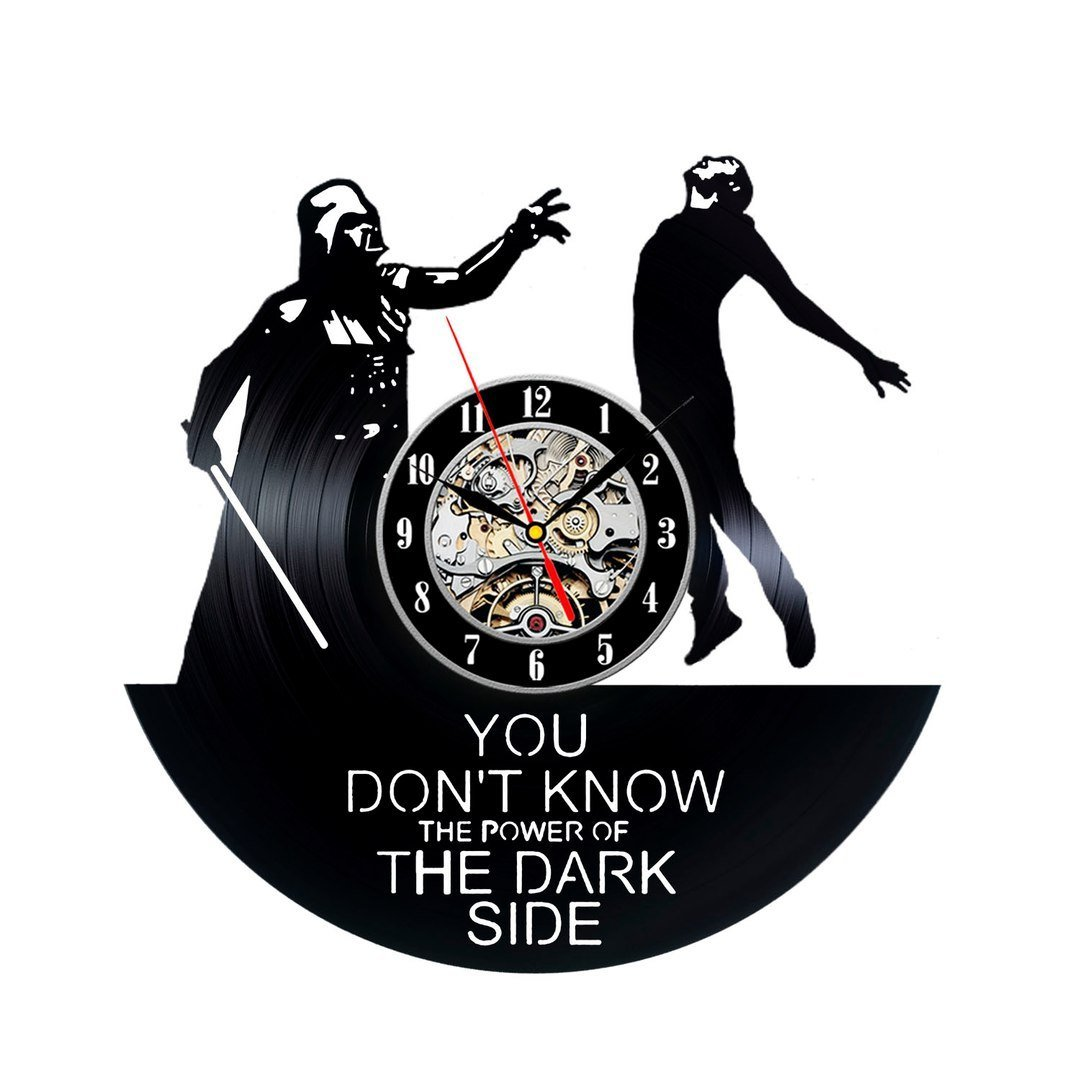 Star Wars Living Room Art: Star Wars Wall Clock Modern Design Movie Theme For Living