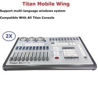 2XLot Flightcase Packing Titan Mobile Controller Stage Lighting Dj Equipments Console Control LED Par Moving Head Beam Lights