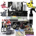 Tattoo Kit with Dual LCD Power 6 tattoo Guns Grips&Needles free shipping  20% OFF