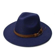 LUCKYLIANJI Retro Kid Child Vintage 100% Wool Wide Brim Cap Fedora Panama Jazz B