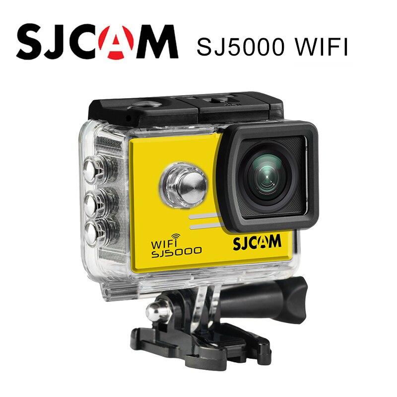 Original SJCAM SJ5000 WIFI Action Camera Waterproof Camera SJ5000 WIFI Novatek 96655 1080P Full HD Camera Sport DV free shipping xiaoyi sport action travel camera ambarella a7 16mp 1080p 1010mah wifi bluetooth4 0 sj5000 style